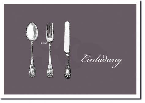 klasse postkarte fuer eine einladung zum essen