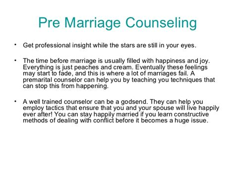 pre marriage counseling pre marriage counseling