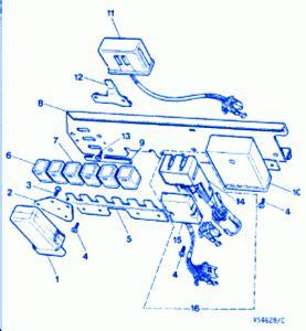 jaguar xkr  convertible fuse boxblock circuit breaker