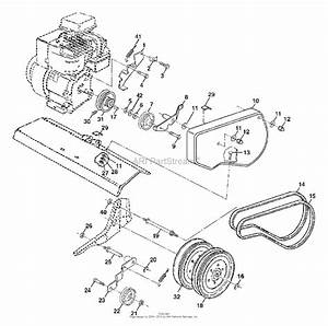 Ayp  Electrolux Sof550a  2003  Parts Diagram For Belt Guard