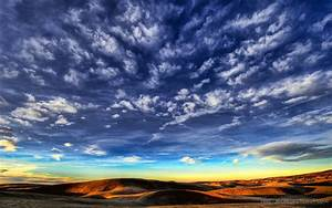 Beautiful Blue Sky HD Cloud Wallpaper