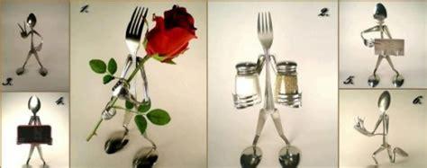 artistic diy spoon silverware decorations