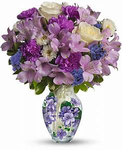 Sweet Violet Bouquet Flowers, Sweet Violet Flower Bouquet
