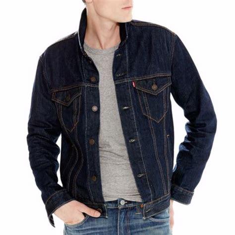 veste en jean troué blouson jean homme levi s