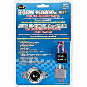 Wolo Air Horn Wiring Kit W   Horn Button Switch By Wolo At