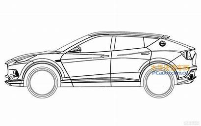 Suv Lotus Sports Drawing Pc Planning Patent