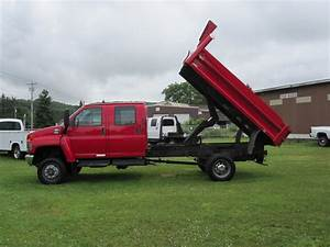 Sell Used 2007 Chevrolet Kodiak C5500 4x4 Crew Cab Dump