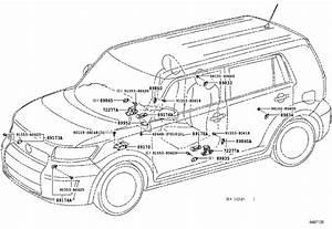 Scion Xb Air Bag Seat Sensor Mat  Computer  Occupant Detection