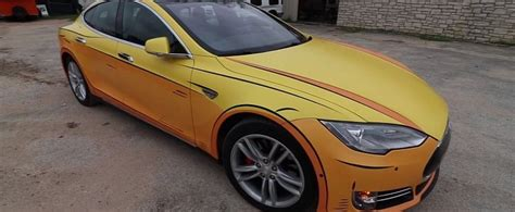 Cartoon Wrapped Tesla Model S Seems to Be Owned by Wile E ...