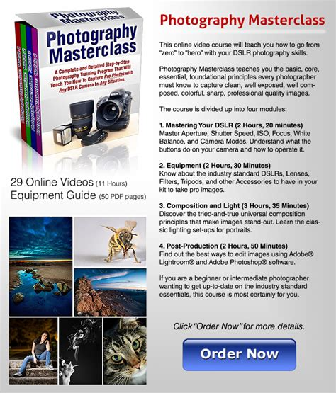 Learn Photography Online [[free Tutorial]] High Speed