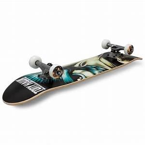 Tony Hawk 540 Series Evil Eye Skateboard Blue