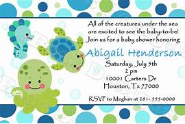 Baby Shower Sea Turtle Cartoon Sea watermarked jpg  Baby Shower Sea Turtle Cartoon
