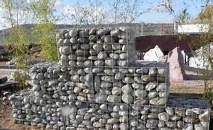 Mur De Soutenement En Gabion : gabion en mailles de 10x10cm galvanis pour mur de ~ Melissatoandfro.com Idées de Décoration