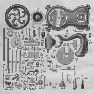 Jones Serpentuine Cat Back Sewing Machines Parts List And