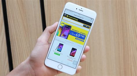 iphone 6 plus 16gb iphone 6 plus ch 237 nh h 227 ng thegioididong