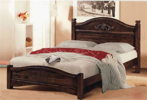 bed headboards king size king size wood bed frame decofurnish