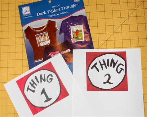 thing one t shirt template make a no sew dr seuss shirt thing one and thing two