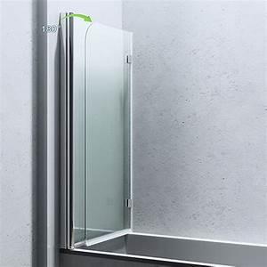 Paroi Douche Verre Sablé : paroi pare douche porte de douche pour baignoire verre de ~ Premium-room.com Idées de Décoration