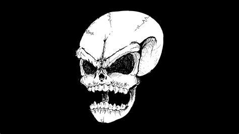 Digital Skull Wallpaper by Evil Wallpaper Mobile 183 Wallpapertag