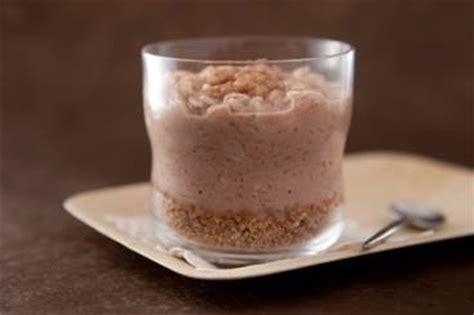 recette de cuisine petit chef recette de petit pot de riz au lait chocolat façon