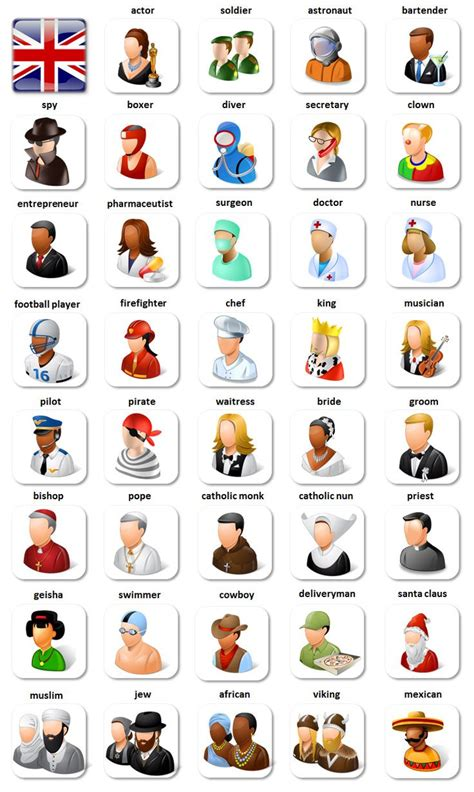 130 Best Images About English  Jobs, Work And Occupations On Pinterest  English, English