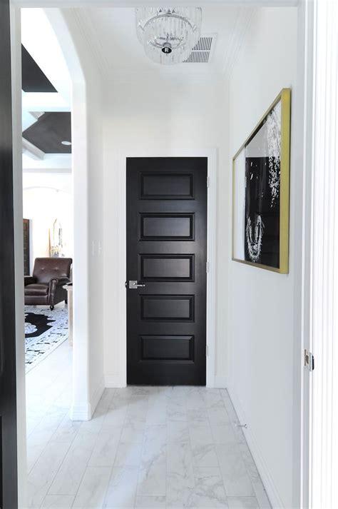 living  black interior doors  month update monica