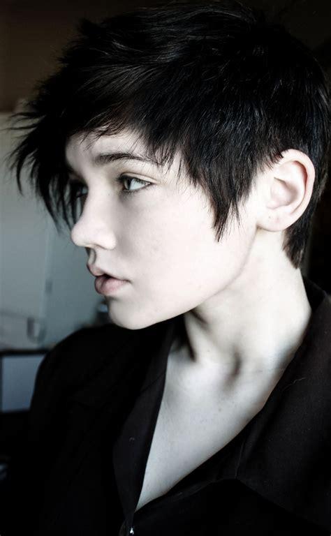 neue suesse kurze frisuren tumblr harre androgyne