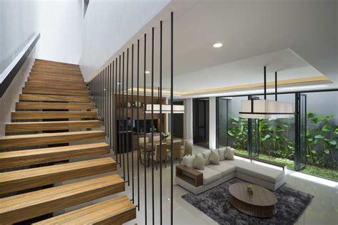 model tangga rumah kreativitas desain tangga rumah minimalis yang elegan arsitag