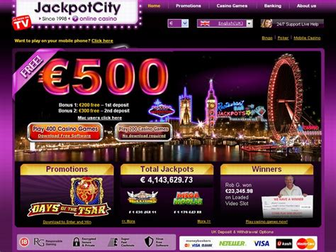 Jackpot City Casino Review  100% Up To 500$ Online