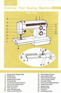 Kenmore 158 16410 Sewing Machine Instruction Manual