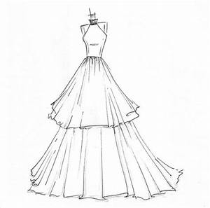 Simple Dress Sketches Designs | New Fashion Style | art ...