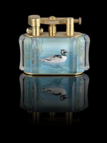 dunhill  extremely rare aviary lighter  images