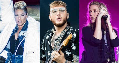 Pink, James Arthur, Ellie Goulding & More Hit The Stage At