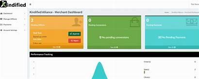 Affiliate Shopify Dashboard Merchant App Custom Relationships