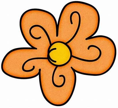 Doodle Flowers Clipart Doodles Clip Flower Transparent