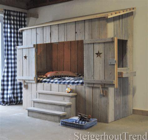 comment fabriquer une cuisine pour fille steigerhouten bedstee elko steigerhouttrend