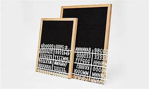 the letter board cool material With letter board material
