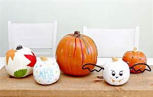 no, carve, pumpkin, decorating, ideas