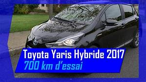 Essai Toyota Yaris Hybride : essai toyota yaris hybride chic 2017 sur 700 km hybrid life youtube ~ Medecine-chirurgie-esthetiques.com Avis de Voitures