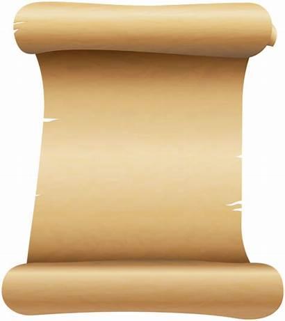 Scroll Clip Clipart Scrolls Transparent Yopriceville