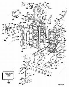 Johnson 1997 200 - J200cxeua  Cylinder  U0026 Crankcase