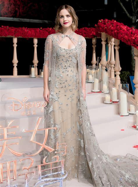 Emma Watson Latest Premiere Dress Fairytale Come