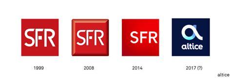 sfr devient altice et change de logo graphéine agence de communication lyon
