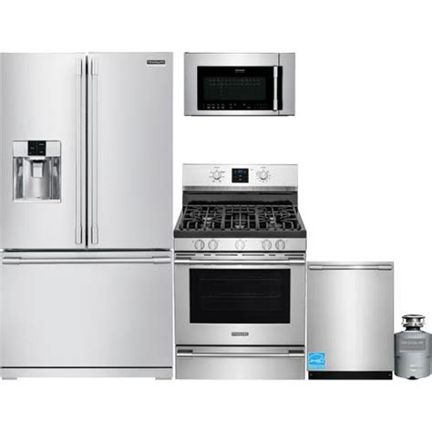 Frigidaire Stainless Steel Complete Kitchen Package