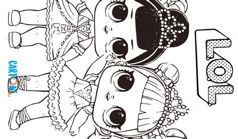 cartoni animati disegni da colorare delle piccole lol