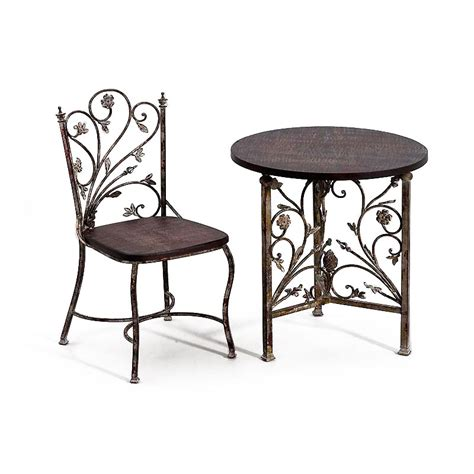 chaises fer forgé chaise en fer forge ziloo fr