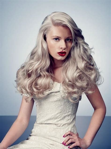 White Hairstyles by White Hair Hairstyles How To