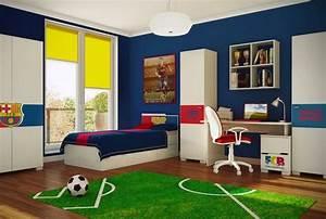 Kinderzimmer Wandgestaltung Ideen : kinderzimmer junge wandgestaltung fussball ~ Sanjose-hotels-ca.com Haus und Dekorationen