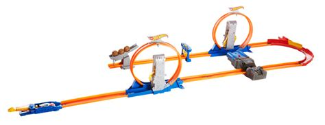 wheels looping bahn hw track builder fall tv shop wheels cars trucks race tracks wheels