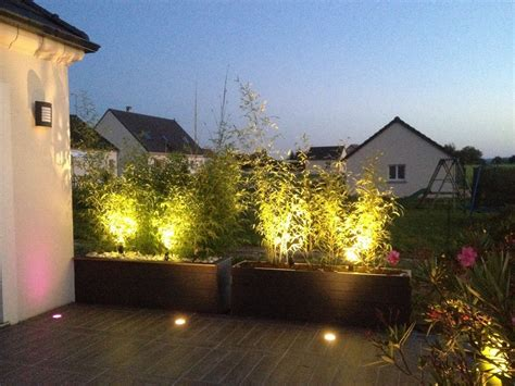 jardiniere separation allee  ere terrasse idee deco